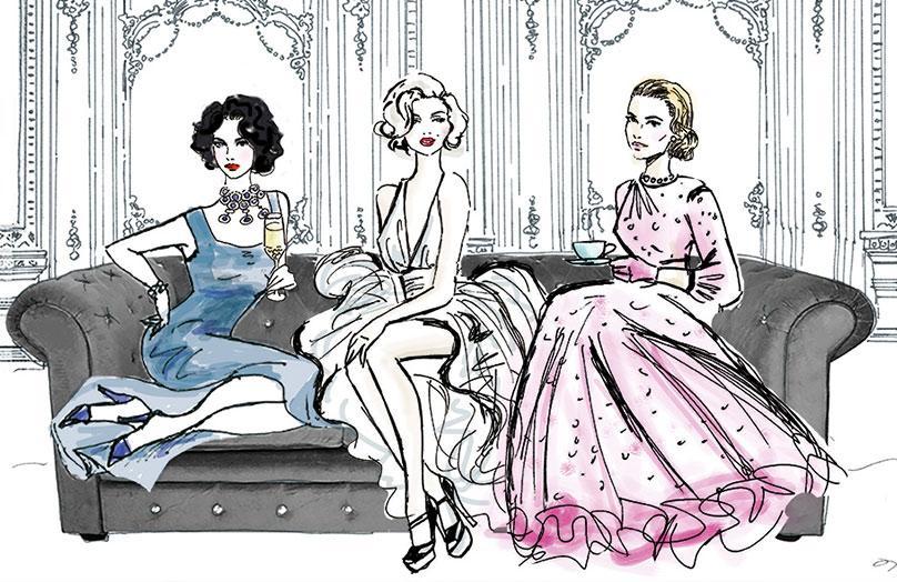 Glamour v hollywoodském vydání