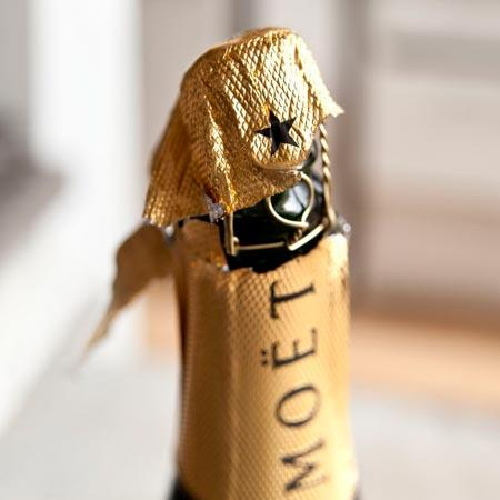 El champán, el rey de las fiestas