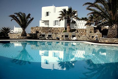 Hôtel San Giorgio: luxe bohème à Mykonos