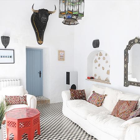 Une maison bohème en Andalousie