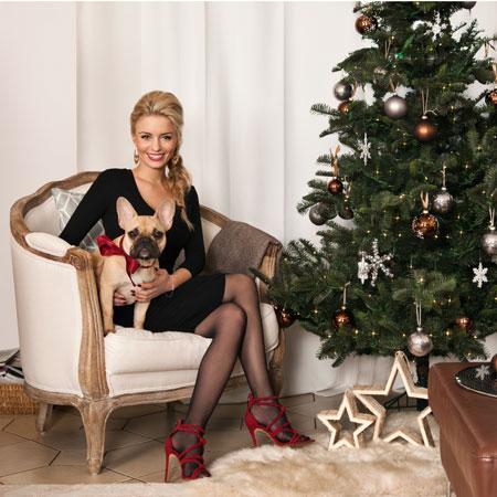 Natale con Delia Fischer e famiglia