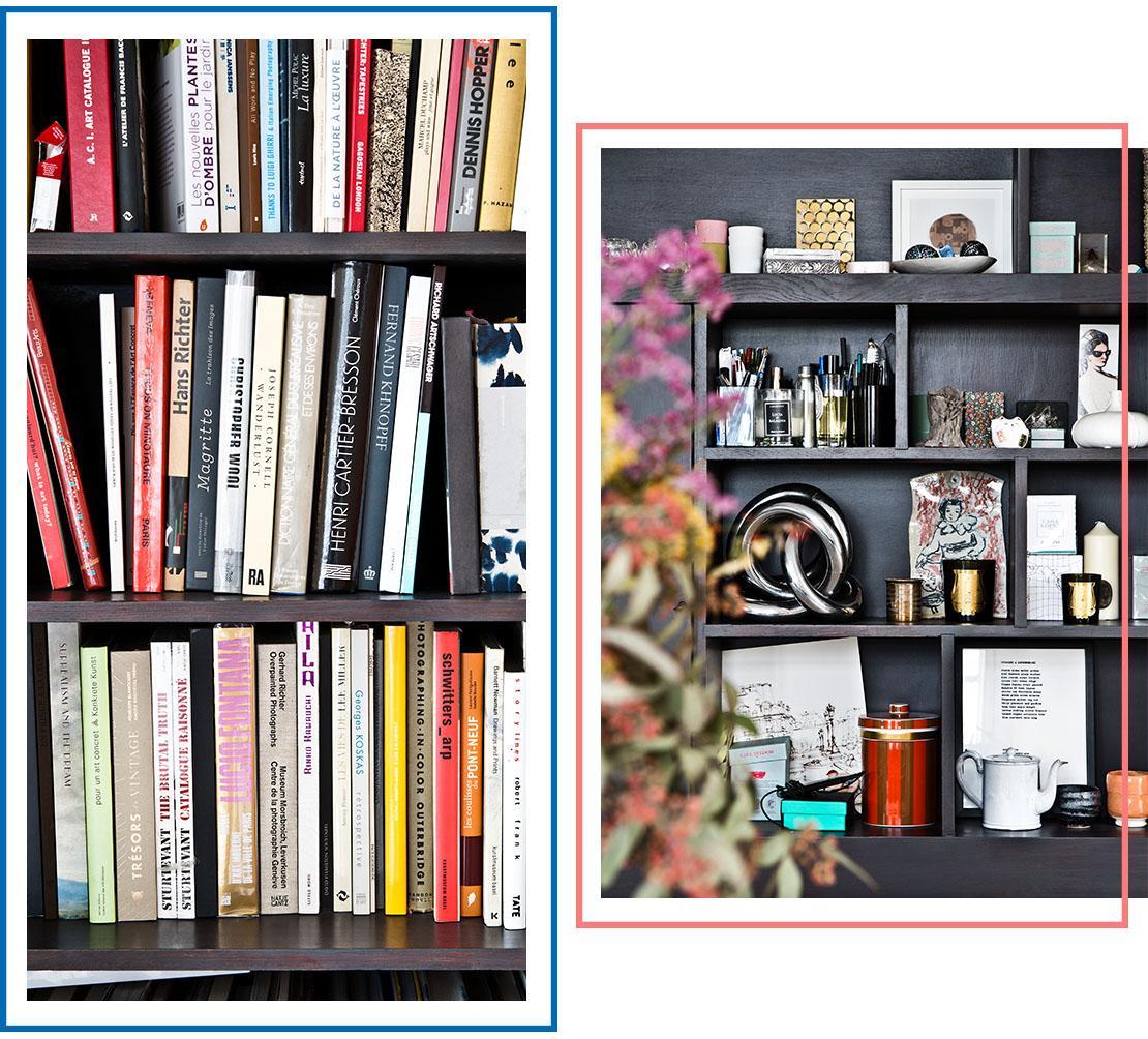 stile eclettico libreria