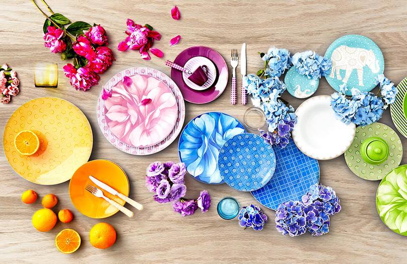 Rose&Tulipani - La tavola contemporanea? Supercolor