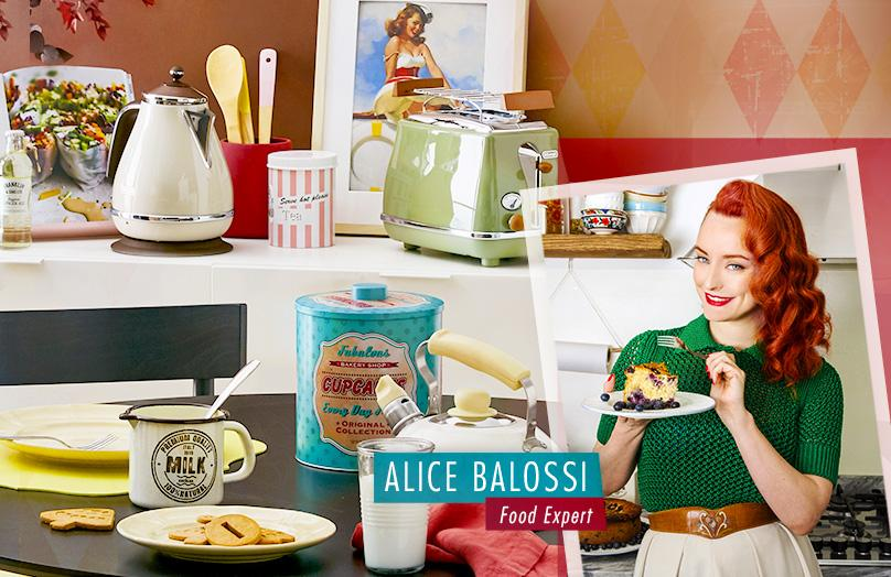 Alice Balossi - La mia passione per i dolci e lo stile retrò