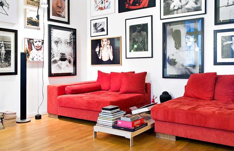 Apartament w stylu gwiazdy rocka
