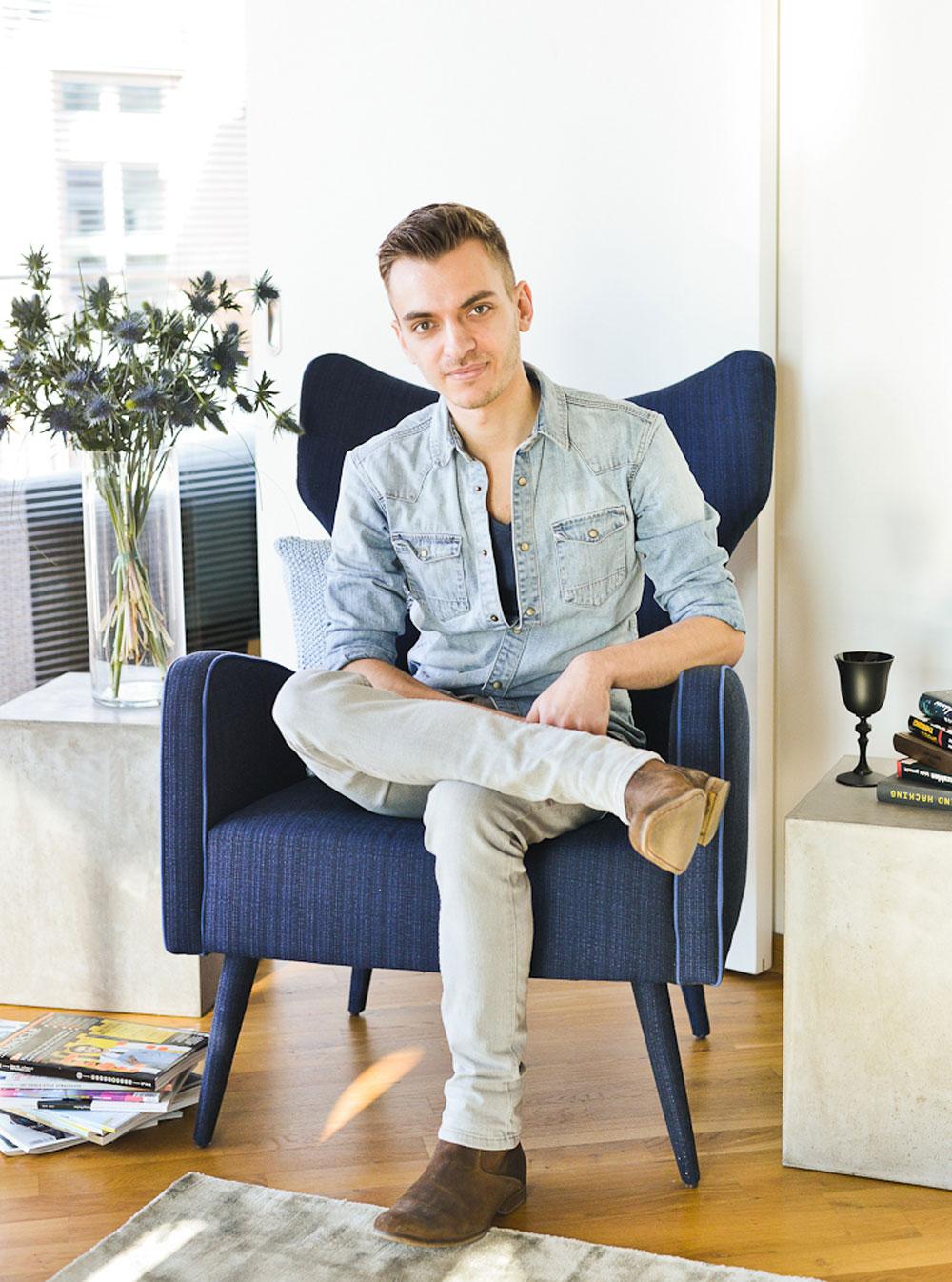 Sebastian Freitag Lässiger Loft-Style