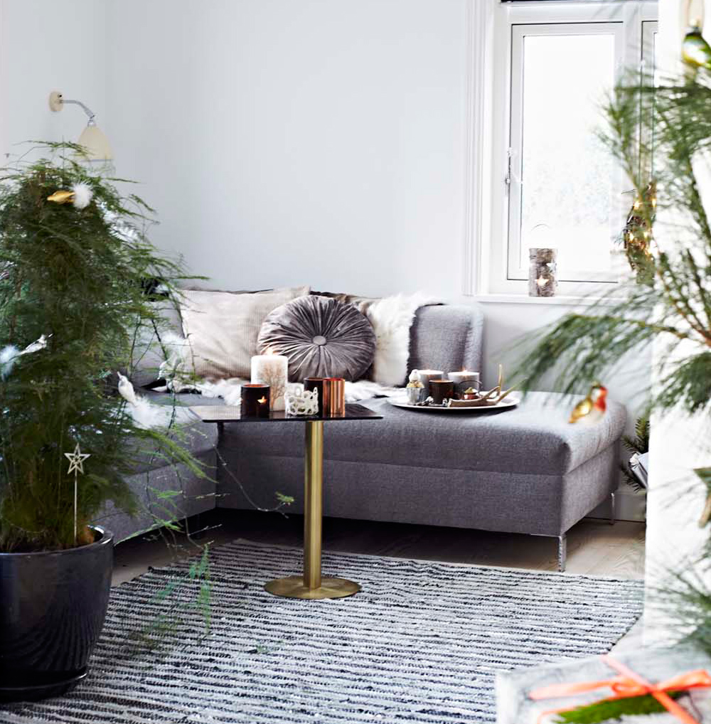 Scandi Christmas Sofa