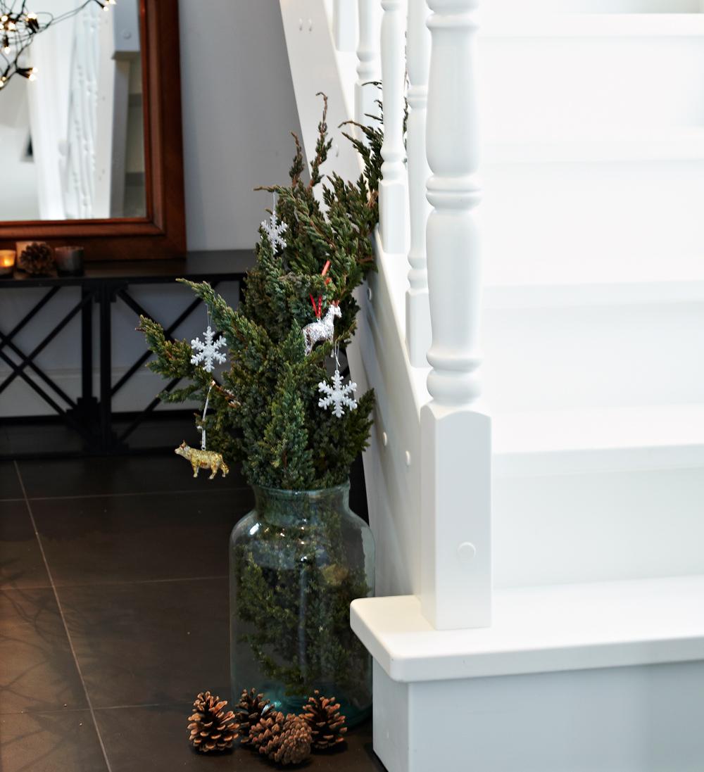 Scandi Christmas Treppe