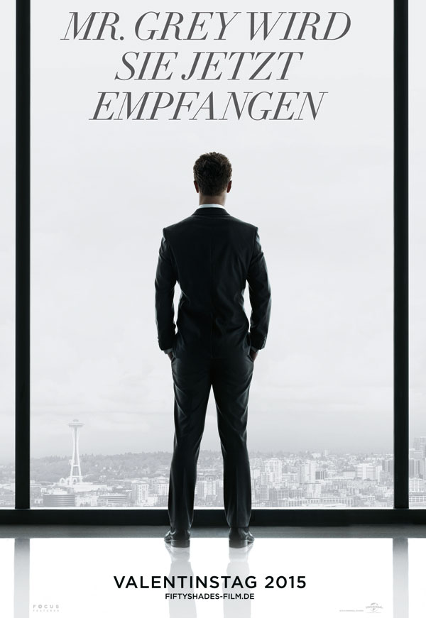 Fifty Shades of Grey Jamie Dornan Christian Grey Filmplakat