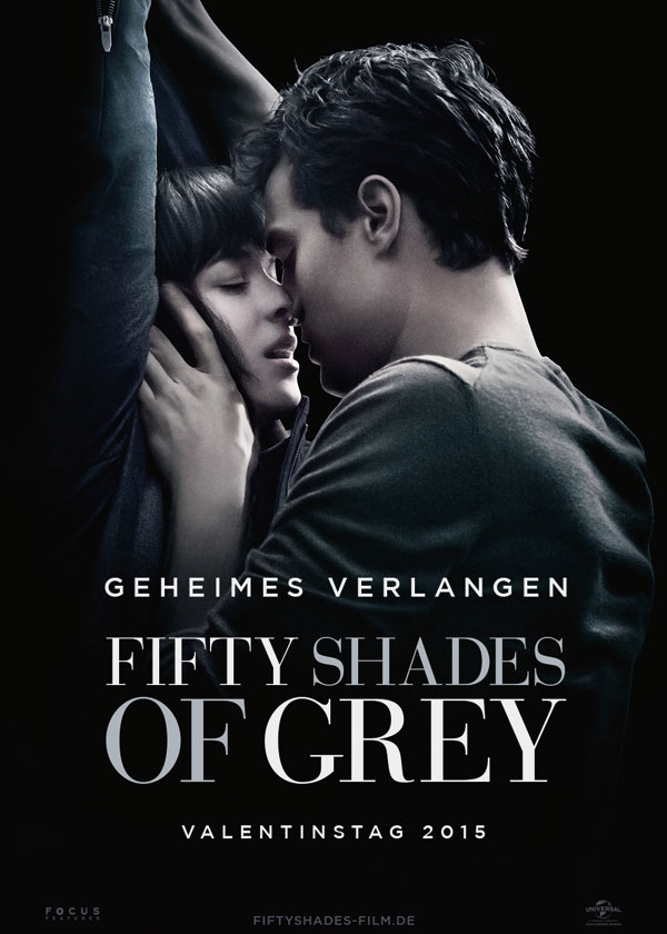 50 Shades of Grey Dakota Johnson Jamie Dornan Filmplakat