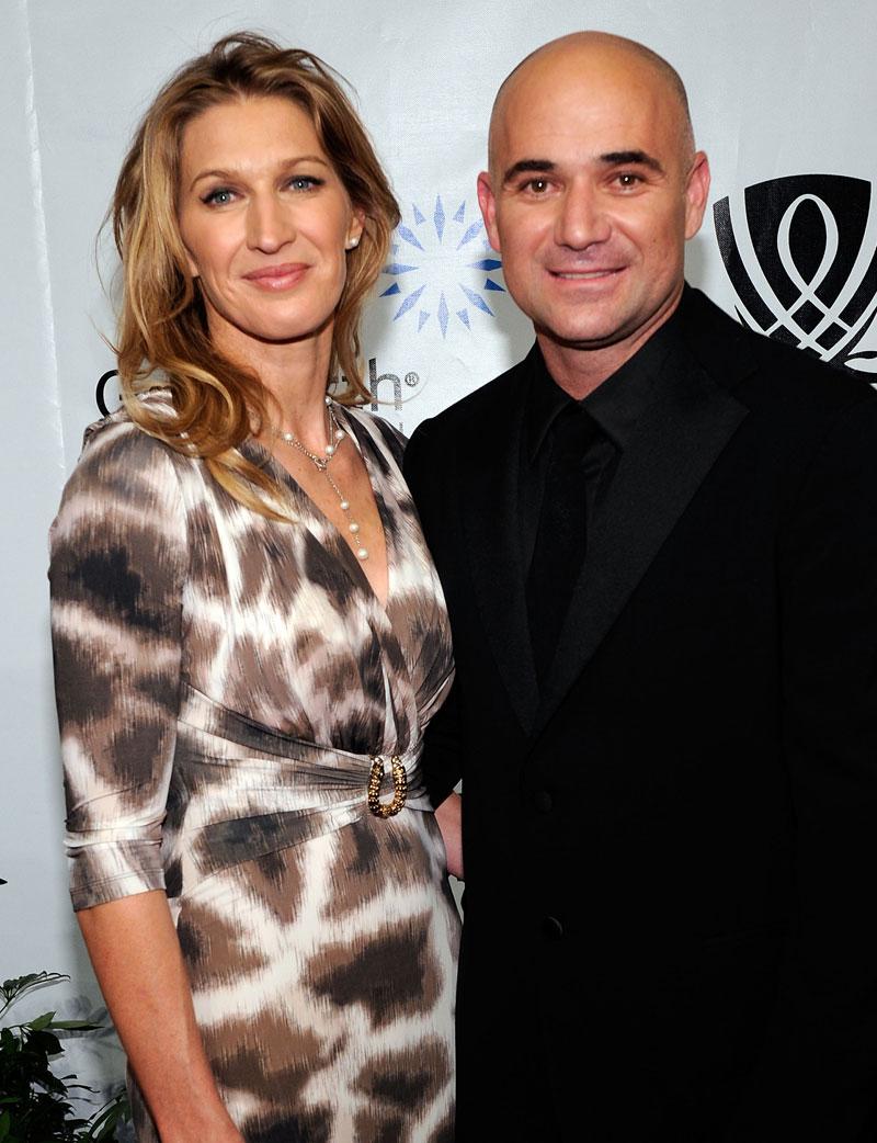 Promi-Paare Steffi und Andre