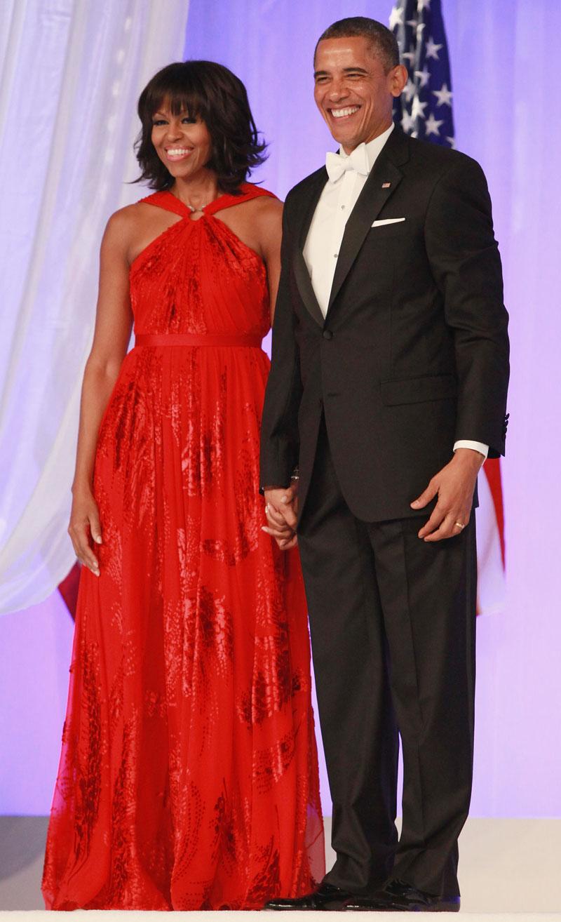 Promi-Paare Barack und Michelle