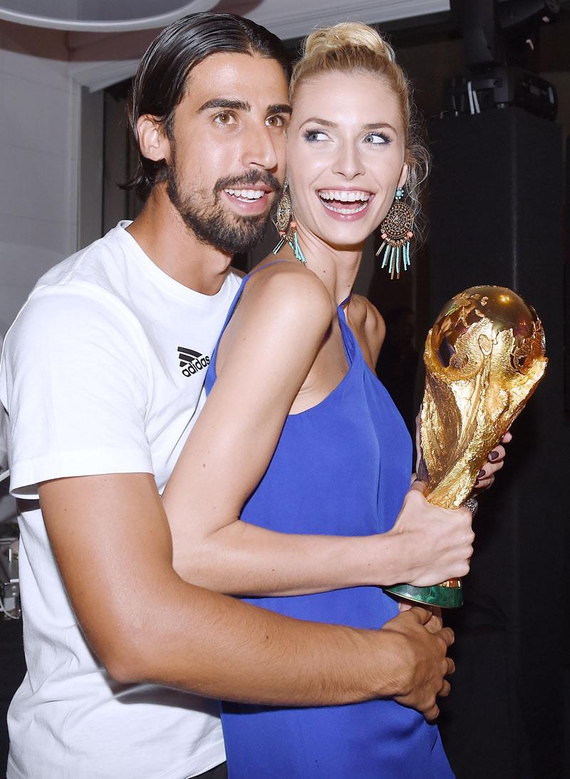 Promi-Paare Lena und Sami