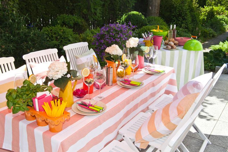 Dreamroom Sommer Gartenparty Garten