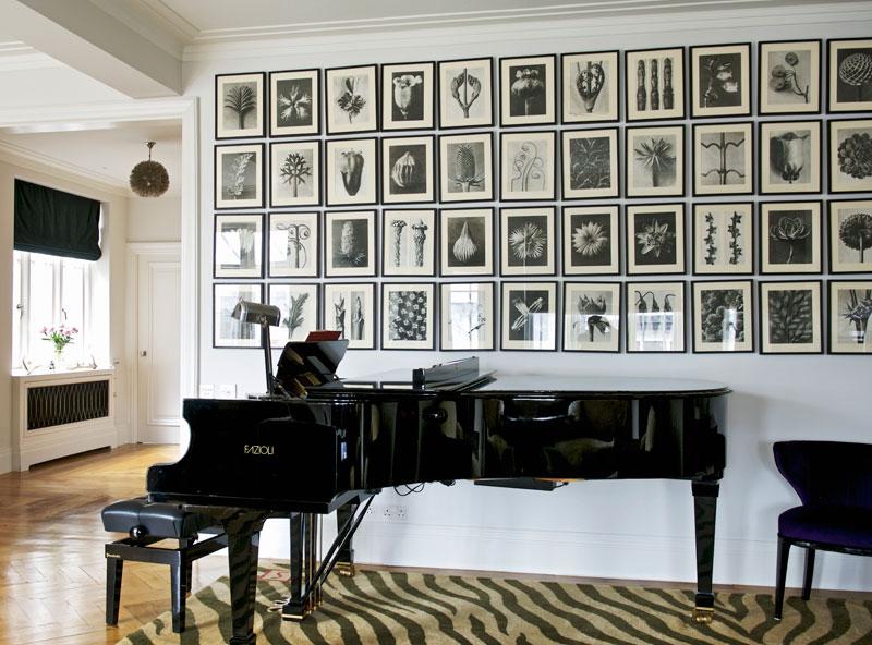 Petersburger Hängung Schwarz Klavier
