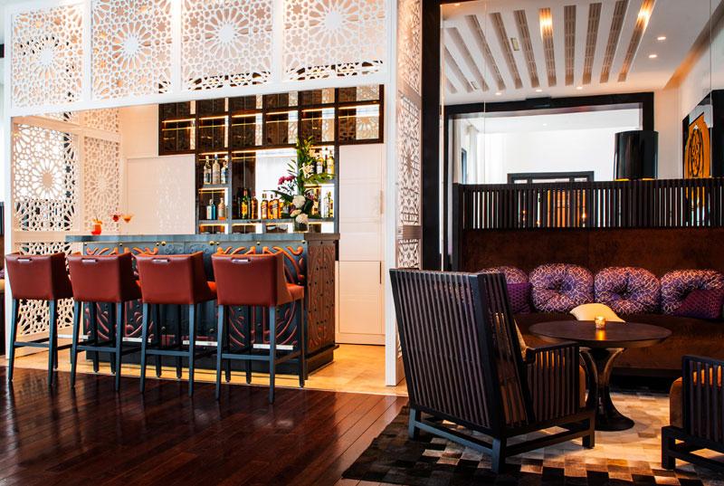 Reisetipps für Interior-Fans Villa Diyafa Bar