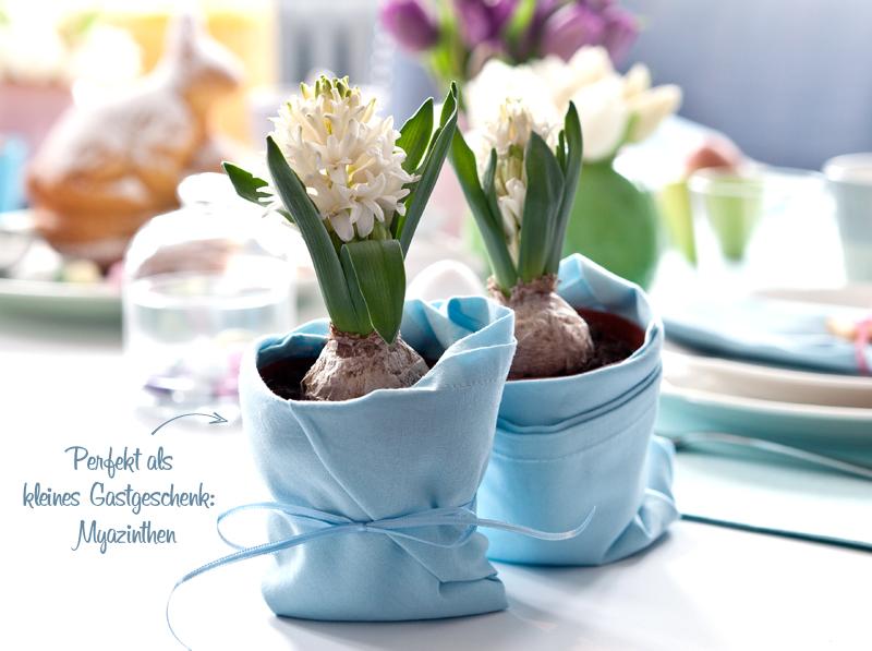 Blumendeko für den Osterbrunch Westwing