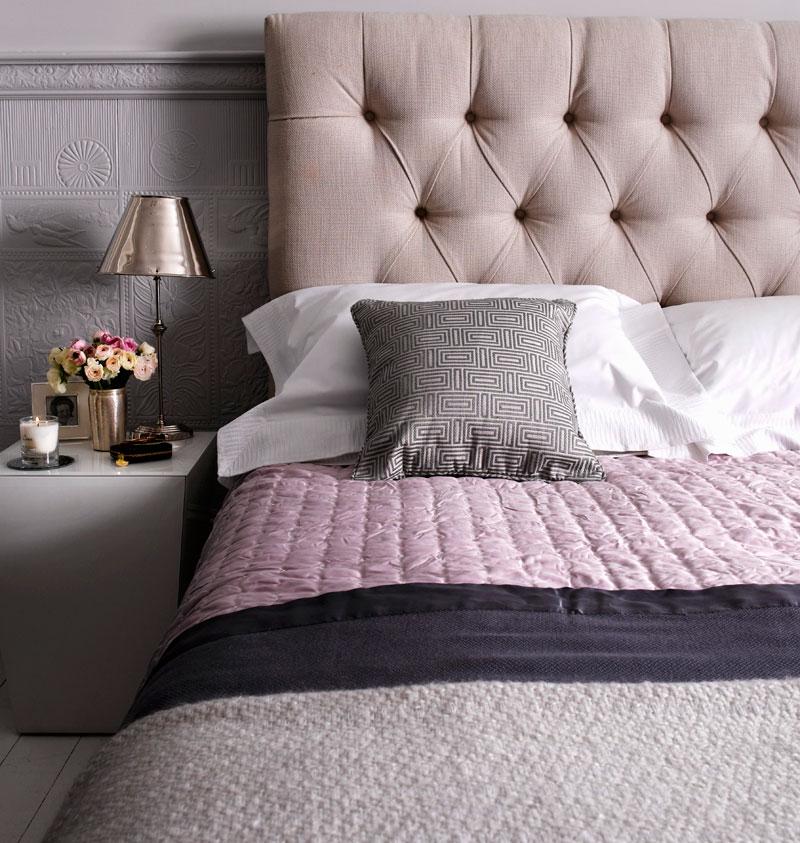 Pudertöne modernes Schlafzimmer