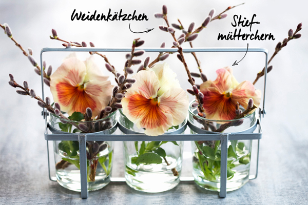 Frühling Blumenschmuck