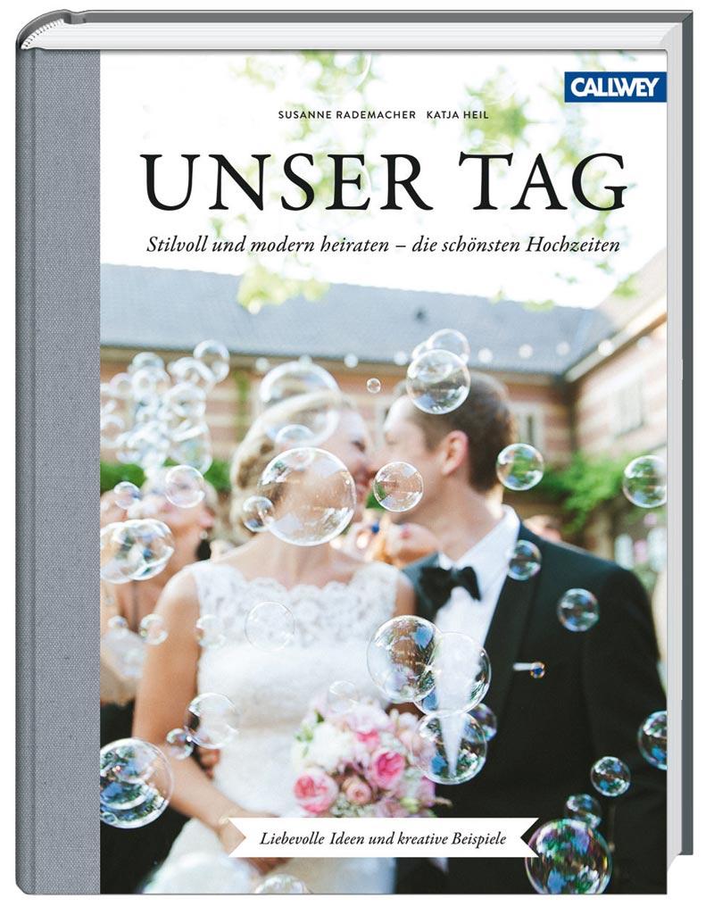 Buchcover heiraten Unser Tag