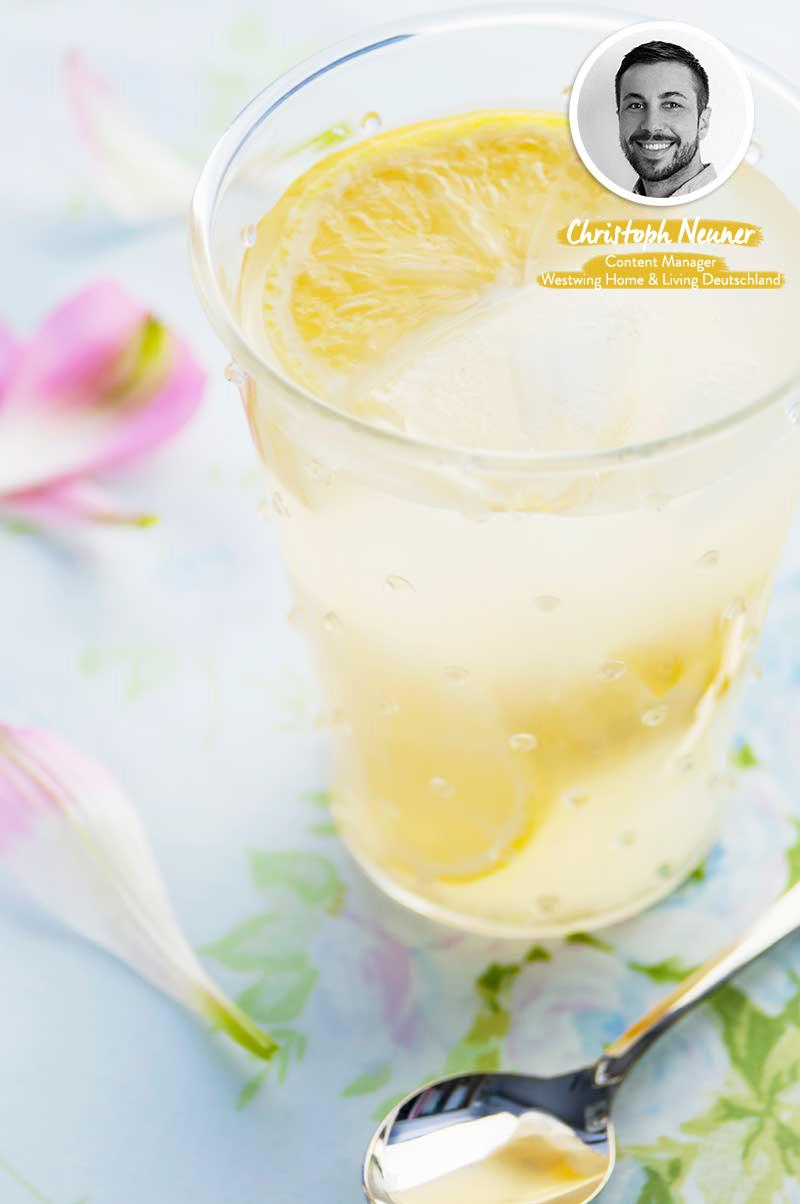 Rezepte Sommer Spirale Zitrone Prosecco
