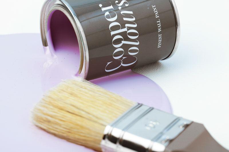 Farben für kleine Räume Cooper Colours