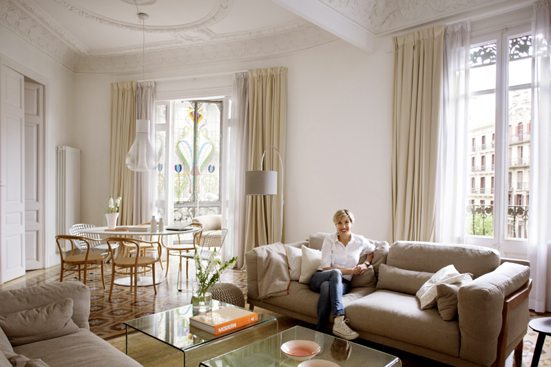 Hausbesuch Barcelona