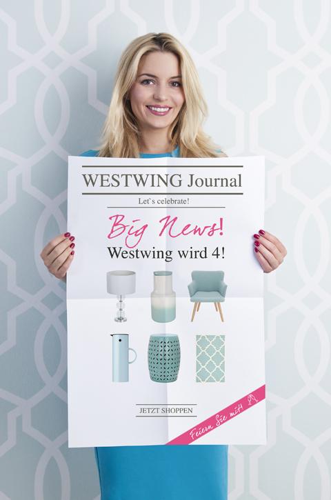 Der 4. Geburtstag von Westwing