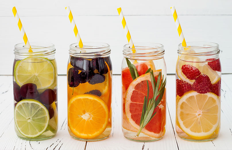 Flavoured Water – der Hit für den Sommer