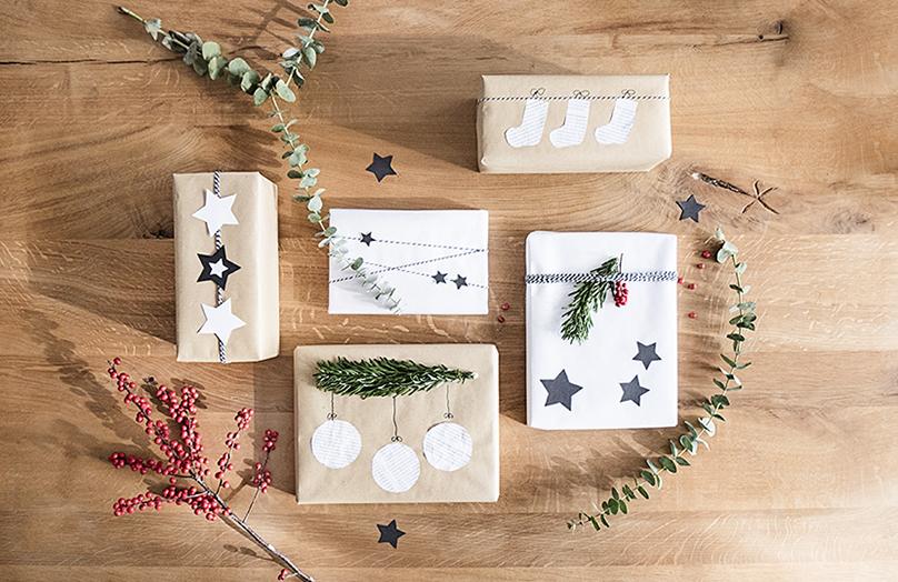 Weihnachtsgeschenke originell verpacken