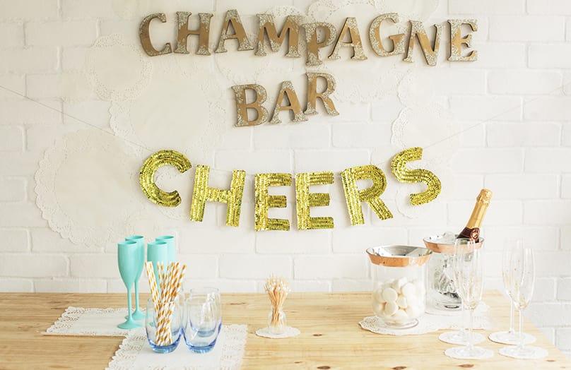 Die perfekte Silvester Partybar
