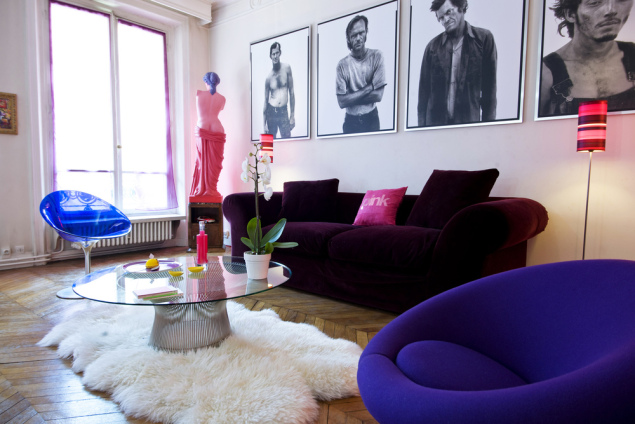 "France, Paris, feature: "" Pop Art apartment "" (stylism: Marie Lacire)"