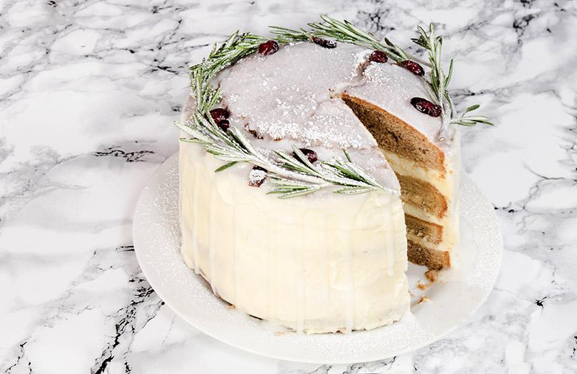 Sladké a veselé: Lahodný vánoční dort