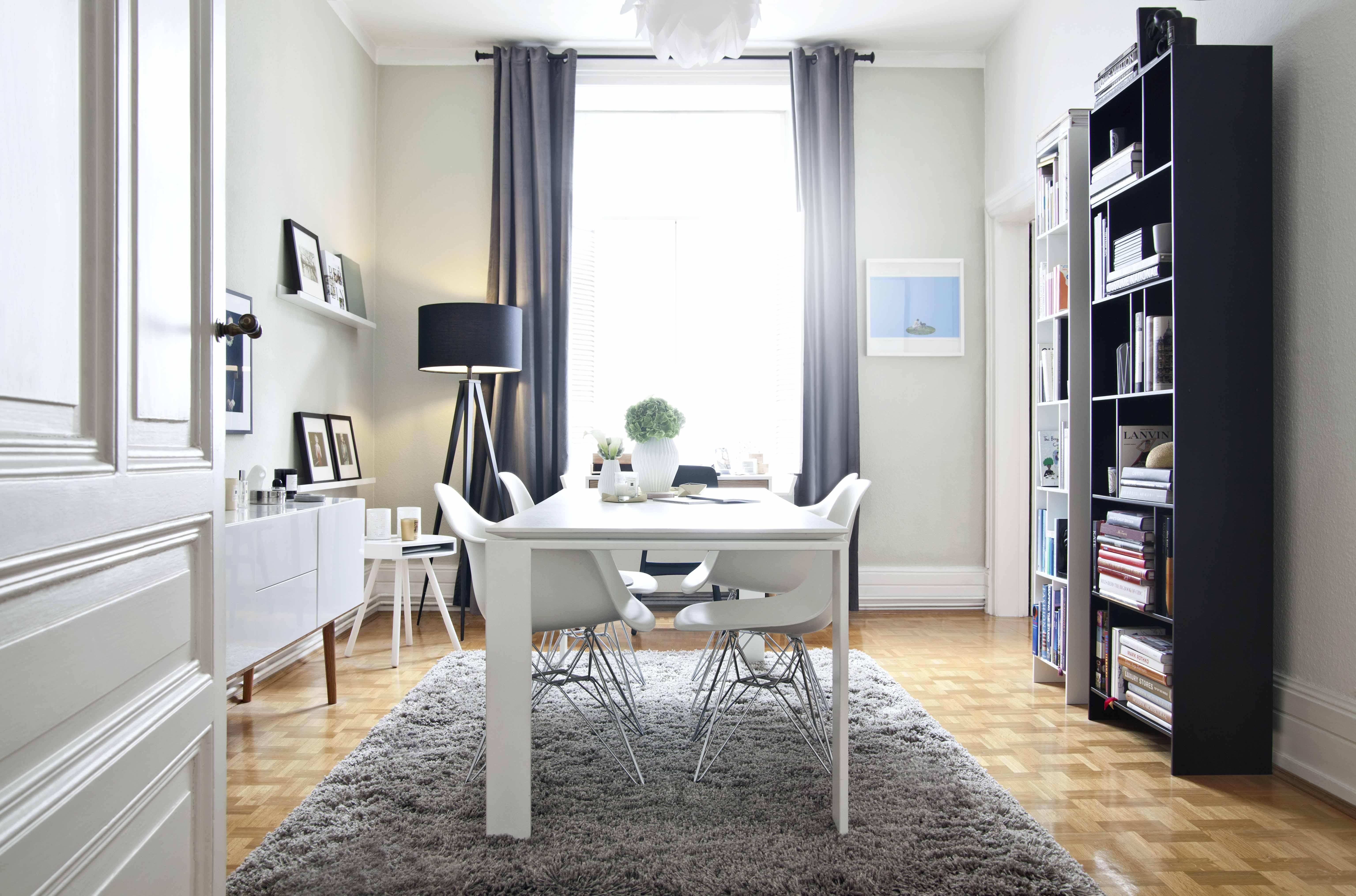 moderní styl bydlení jídelna
