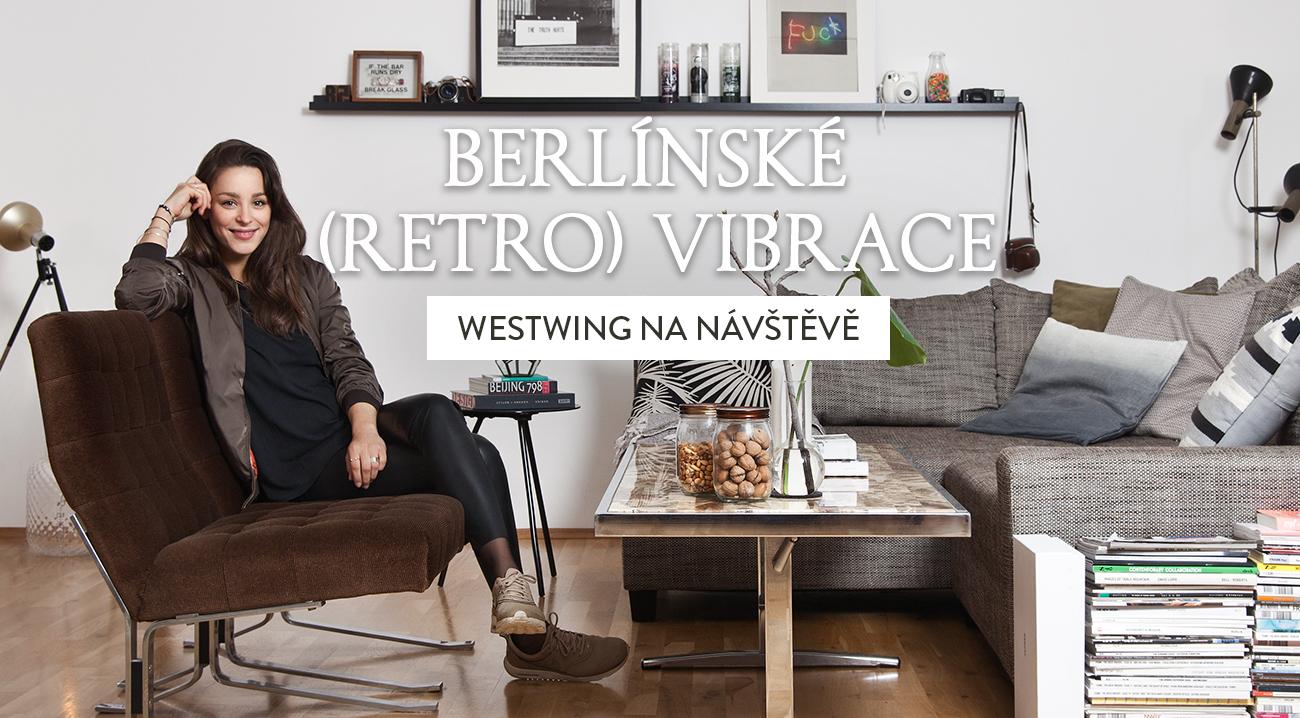 retro styl moderní retro obývací pokoj