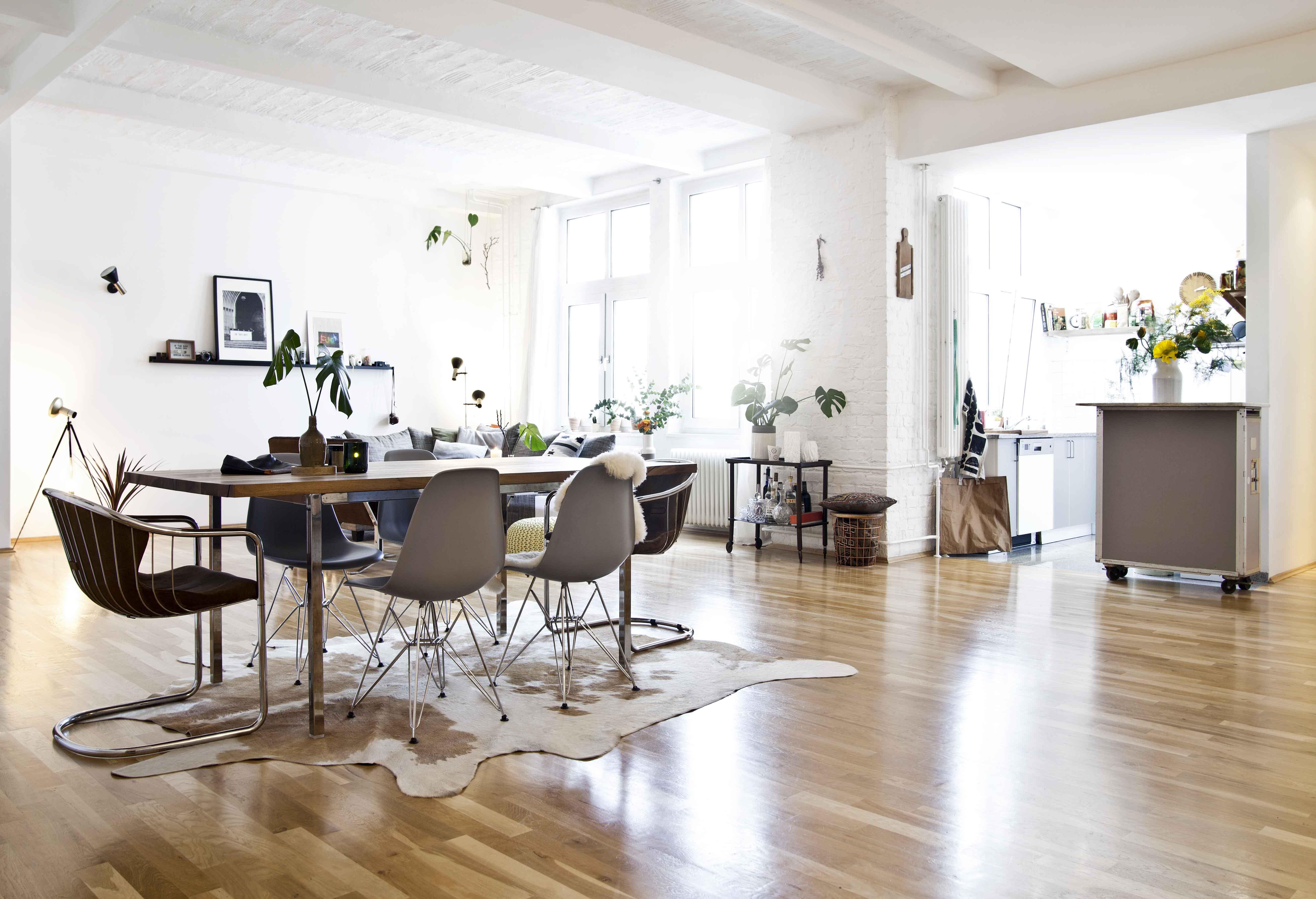 industriální styl podkrovní byt