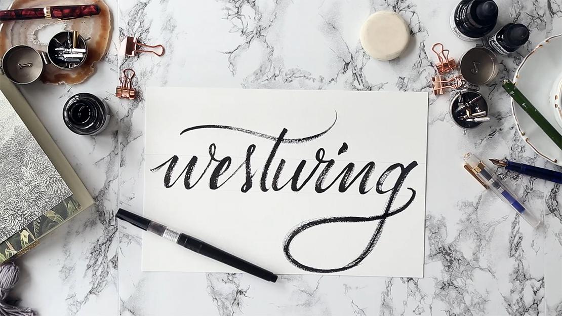 kaligrafie tipy, jak na krasopis