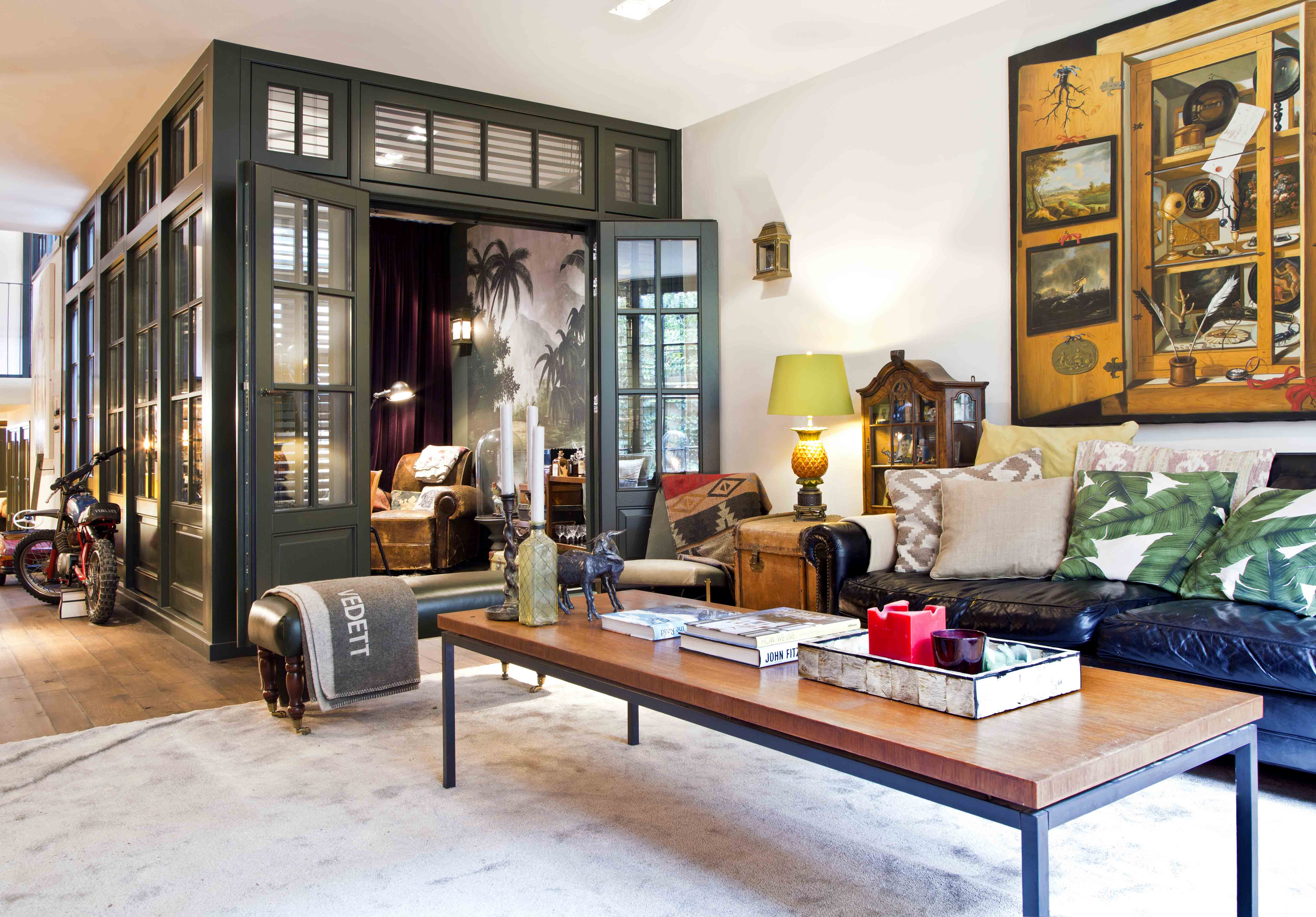 koloniální styl v interiéru