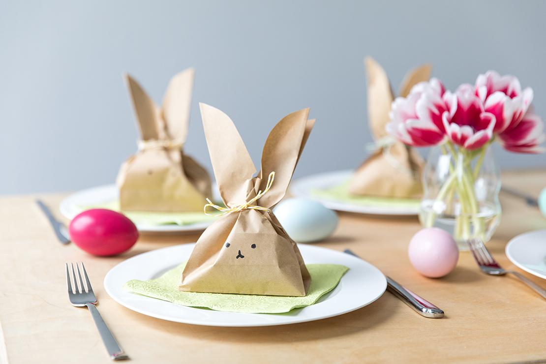 velikonoční DIY papírový balíček