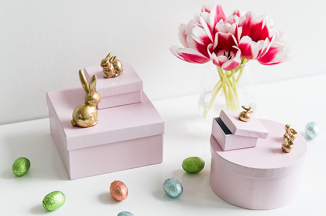 velikonoční DIY krabička