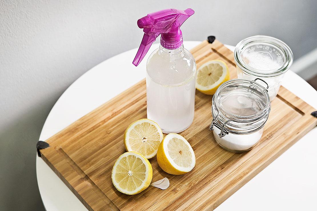 DIY ekologické domácí čisticí prostředky