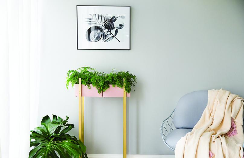 DIY: Stojan na květiny