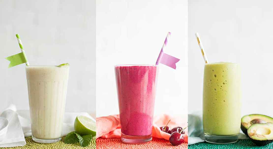 jednoduché a zdravé recepty na smoothie