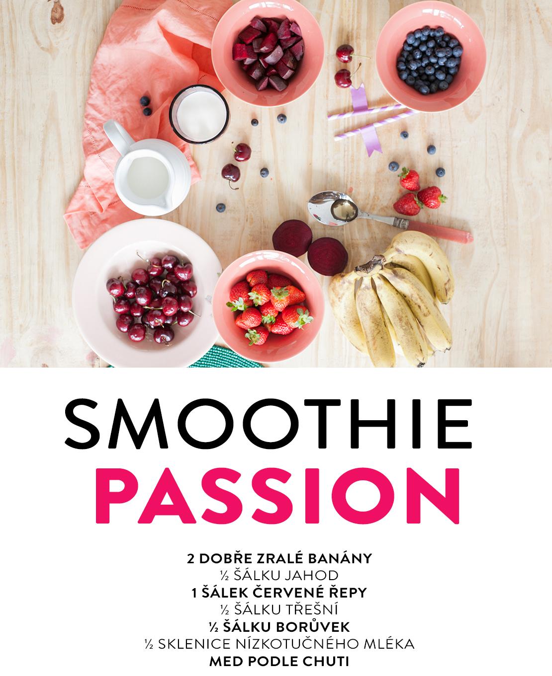 zdravé smoothie recepty s červenou řepou
