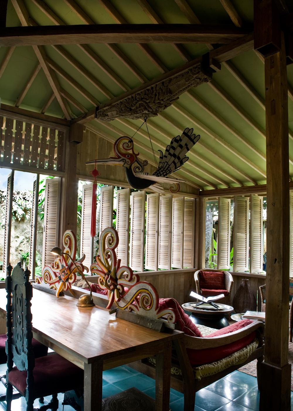 gemütliche Sitzecke Bali