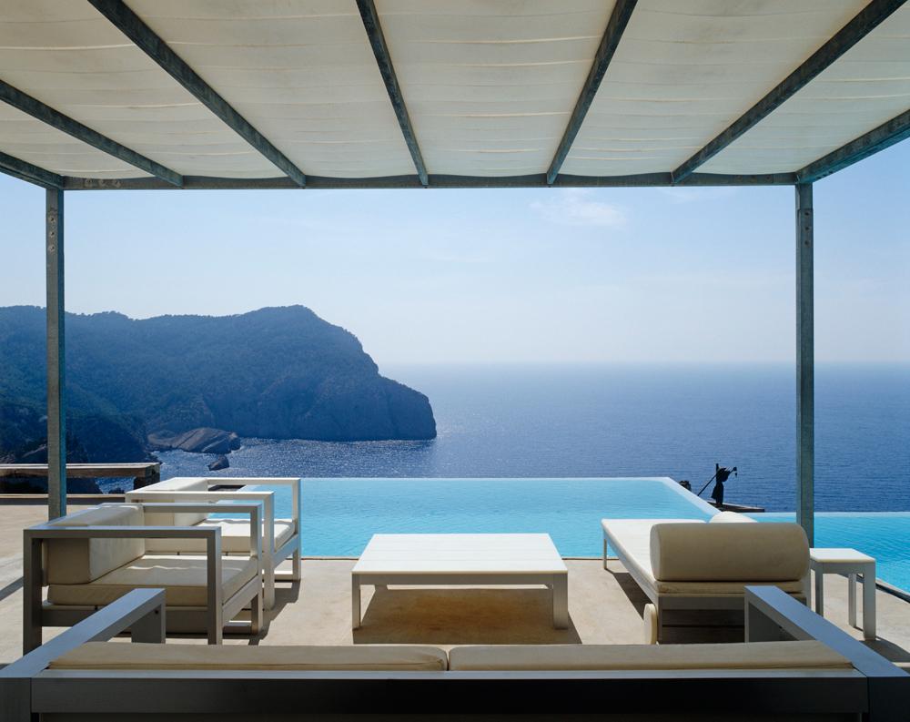 Ausblick aufs Meer Ibiza