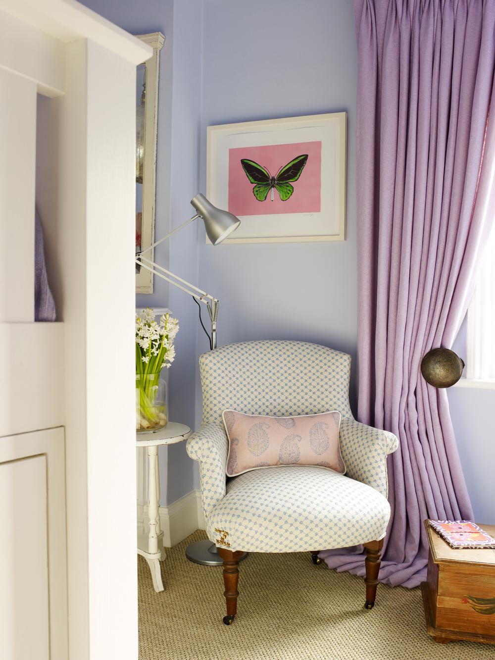 Schlafzimmer Pastell