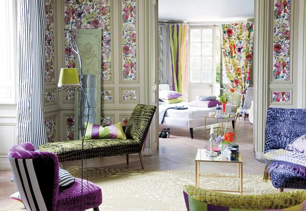 Fabelhafte Farbwelten: Interior-Designerin Tricia Guild | Designers Guild