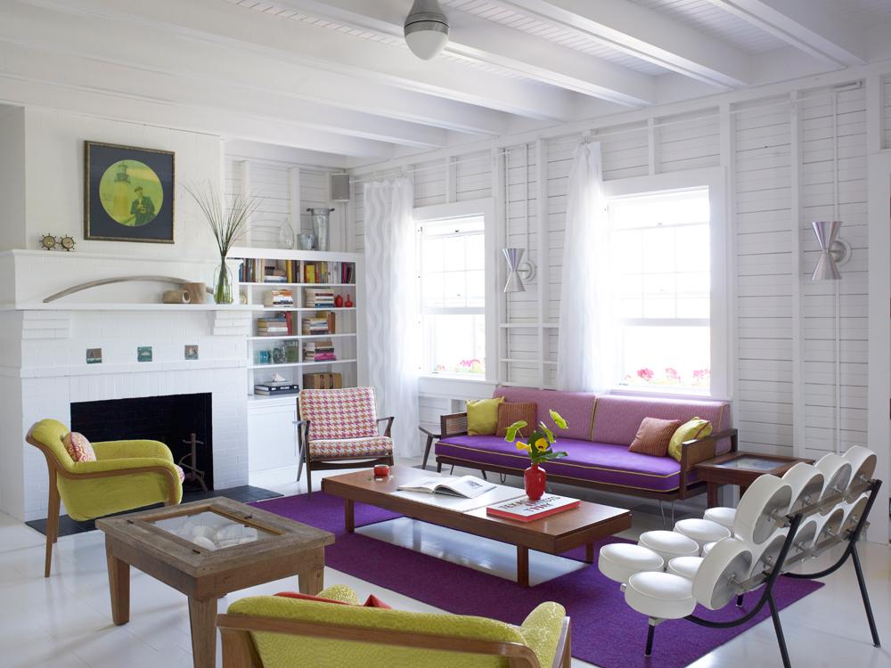 Wohnzimmer Cottage USA