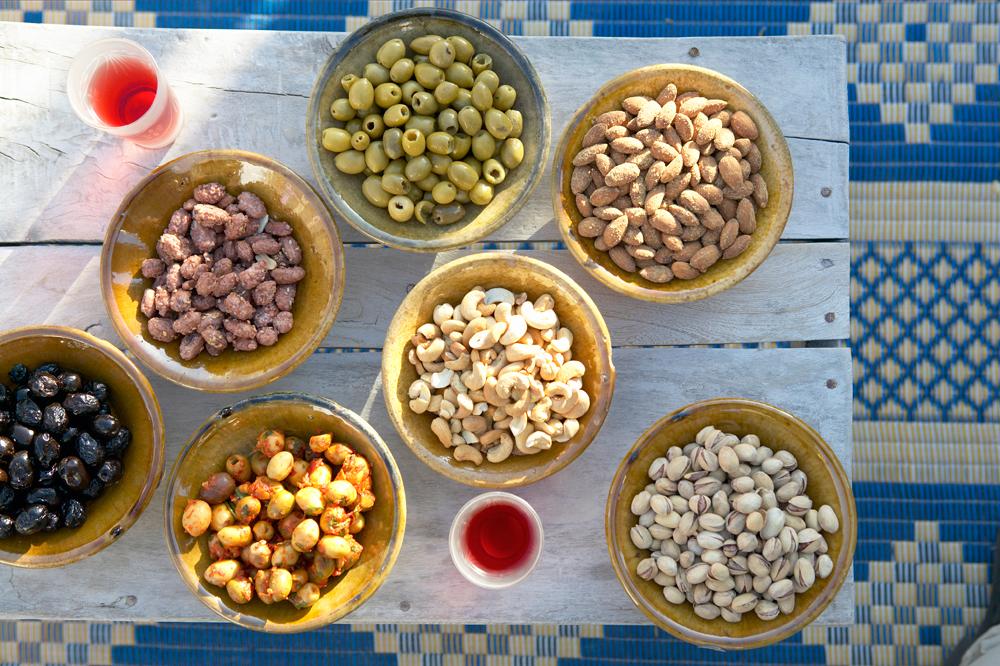 Arabische Snacks